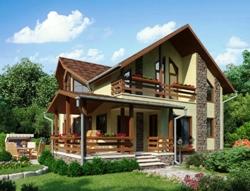 Отделка каркасных домов