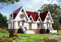 Каркасные дома на две семьи