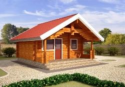 Строительство дачных домов из бруса