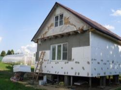 Утепление каркасного дома изнутри и снаружи
