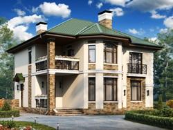 Кирпичный дом 150 кв м
