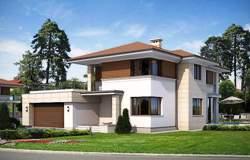 Проекты каркасных домов с гаражом