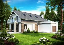Проекты каркасных домов с верандой