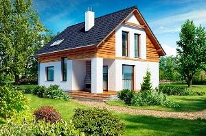 Проекты дачных домов из пеноблоков