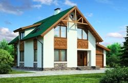 Эконом проекты домов из пеноблоков