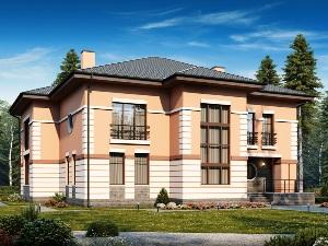 Строительство дома со вторым светом