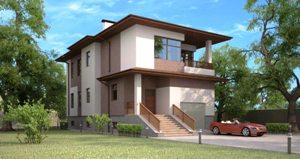 Строительство домов в стиле модерн
