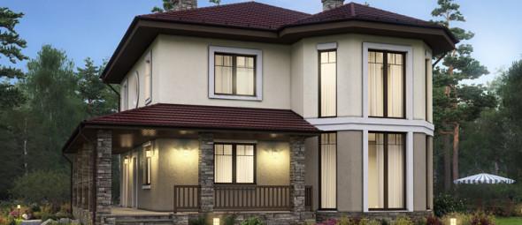 Строительство дома с панорамными окнами