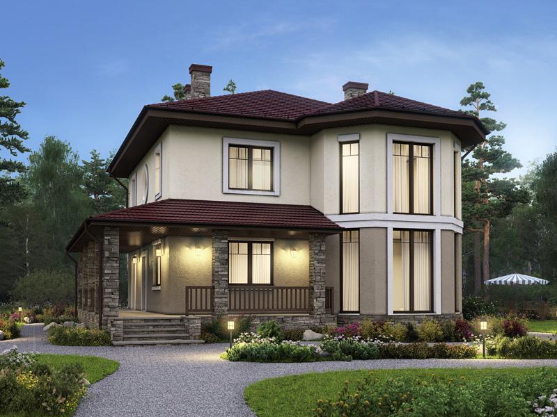 Дом №2 в деревне Красная Новь