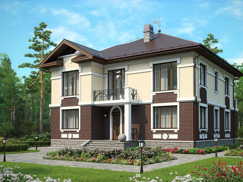 Дом №3 в деревне Красная Новь