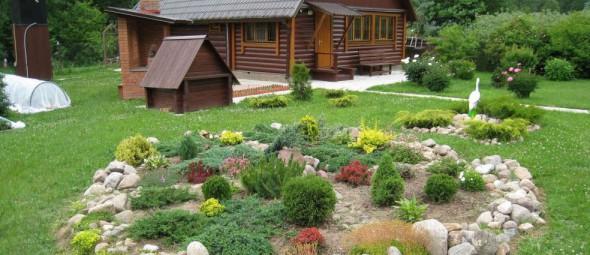 Строительство дома на садовом участке – уютная и теплая дача из бруса