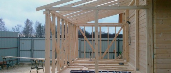 Строительство пристроя к дому
