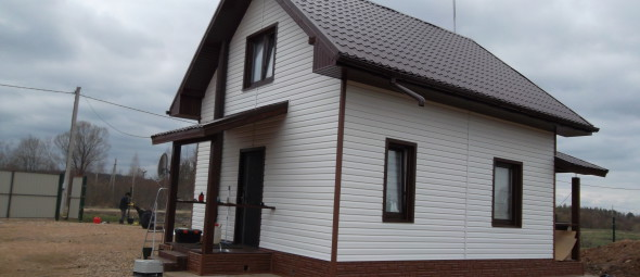 Дом п. Солнечный