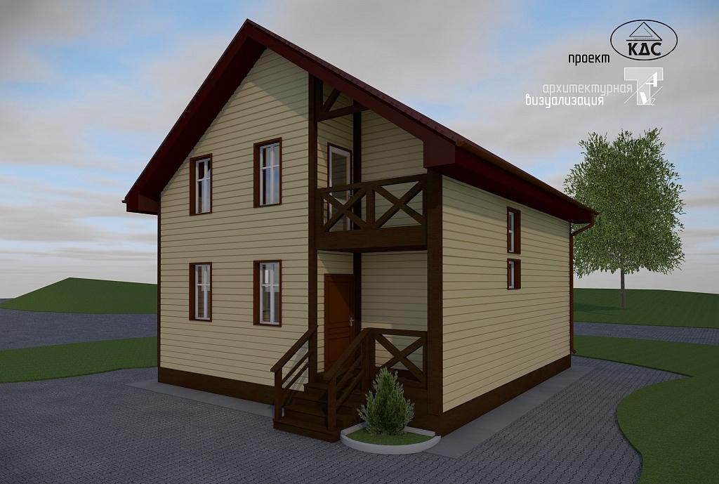 Дом в коттеджном поселке Серово