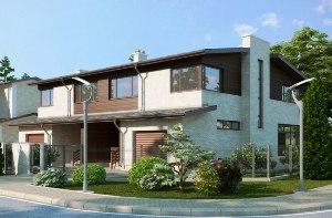 Строительство дома на двух хозяев