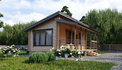 Дома с односкатной крышей: подготовка проекта и строительство