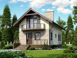 Строительство узких домов – задача для опытных специалистов