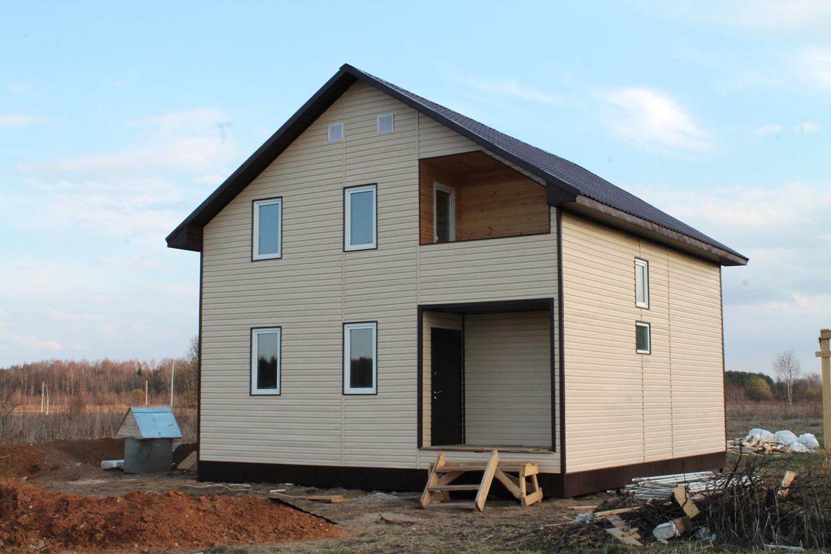 Первое Дом в д.Шалайково (проект А-111)
