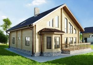 Усадка дома из профилированного бруса и способы ее уменьшения