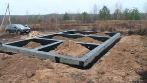 Фундамент Серово