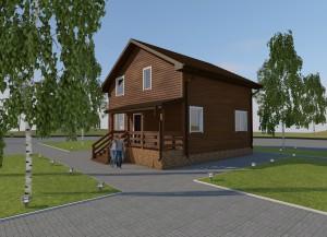 Дом в д. Красная Новь