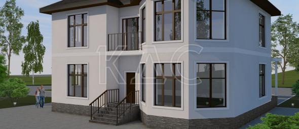 Варианты облицовки фасада дома из газобетона